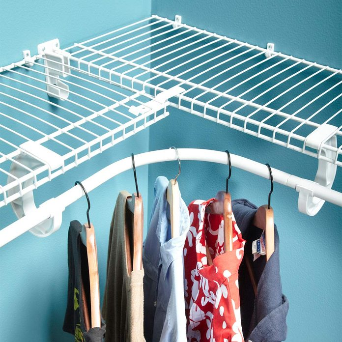 install wire shelves
