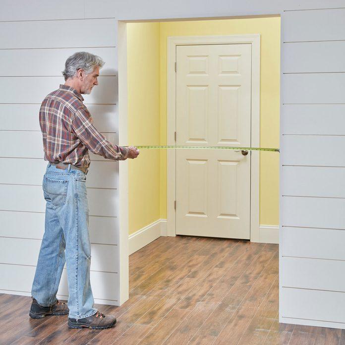 measure barn door opening
