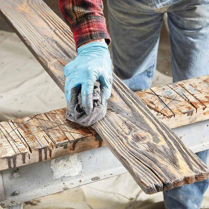 DIY barn wood