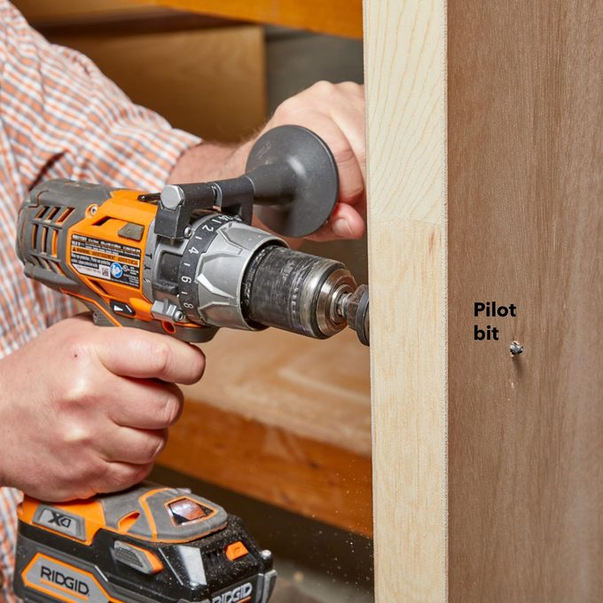 hole saw pilot hole drill