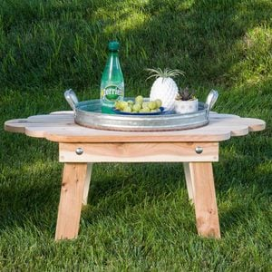 Saturday Morning Workshop: How To Build A Folding Adirondack Table