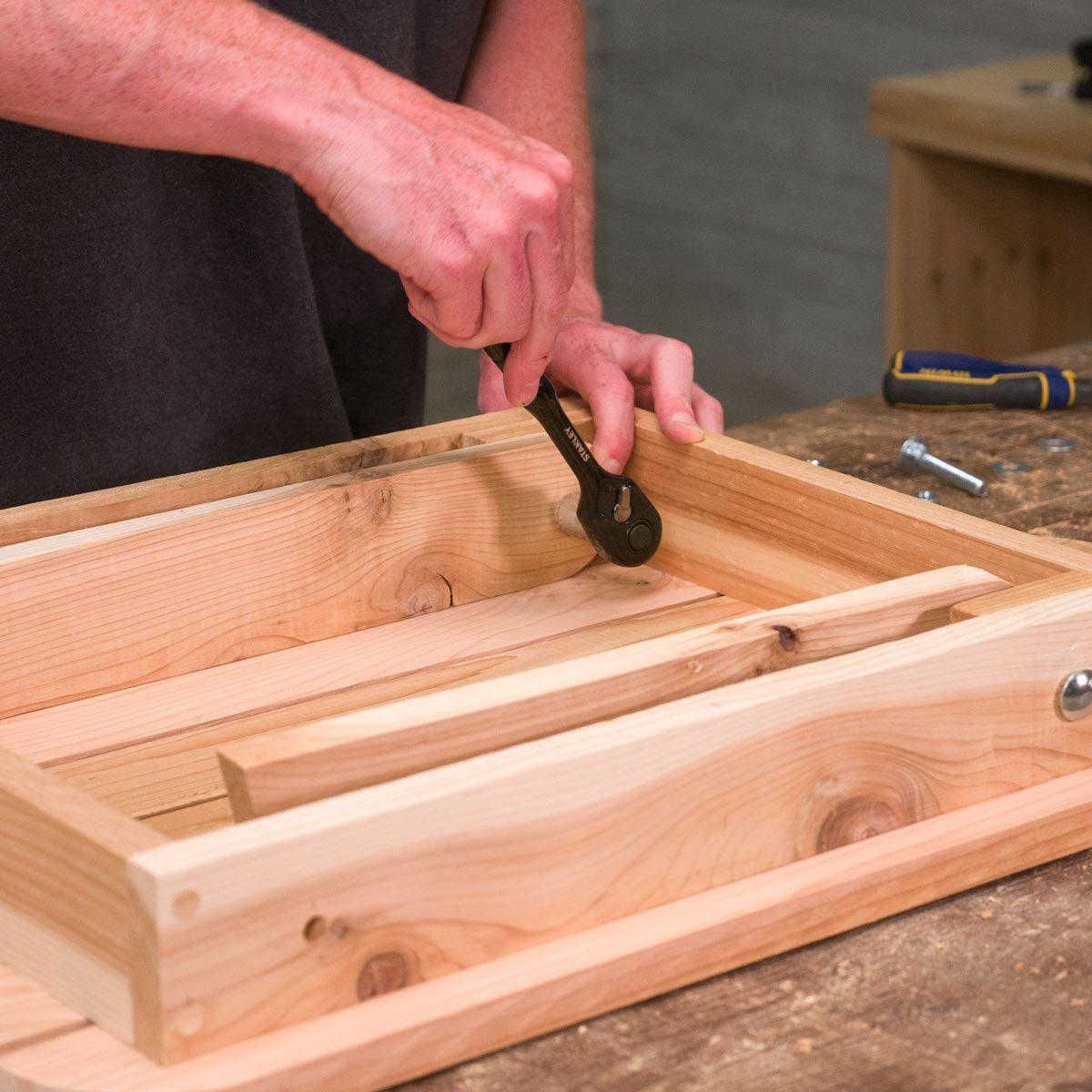 Folding Adirondack Table 6