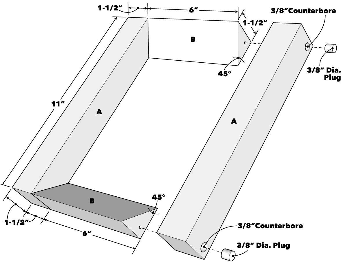 Simple Floating Bookshelves Tech Art