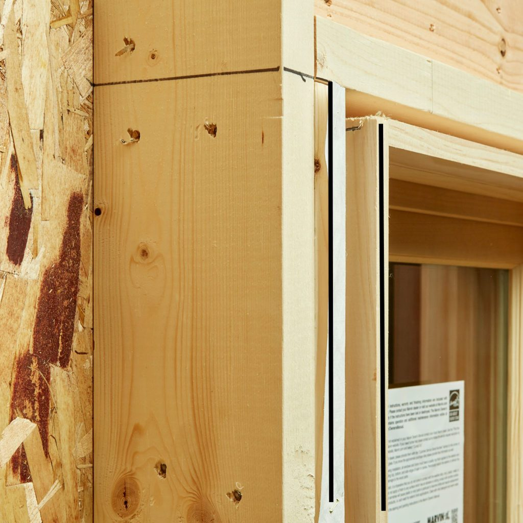 The Jamb and the Window Frame Line Up   Construction Pro Tips