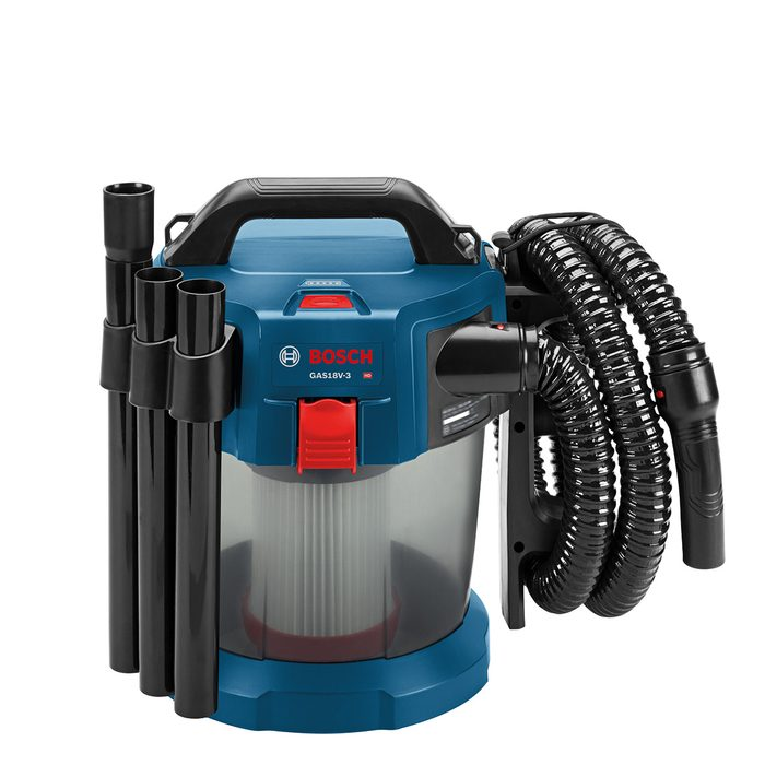 Portable Wet/Dry Vacuum from Bosch | Construction Pro Tips