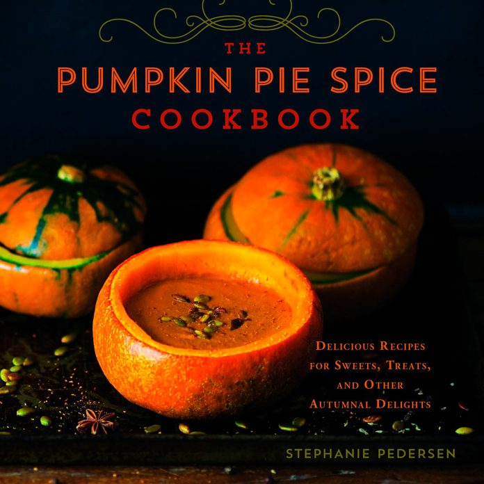 pumpkin pie spice cookbook