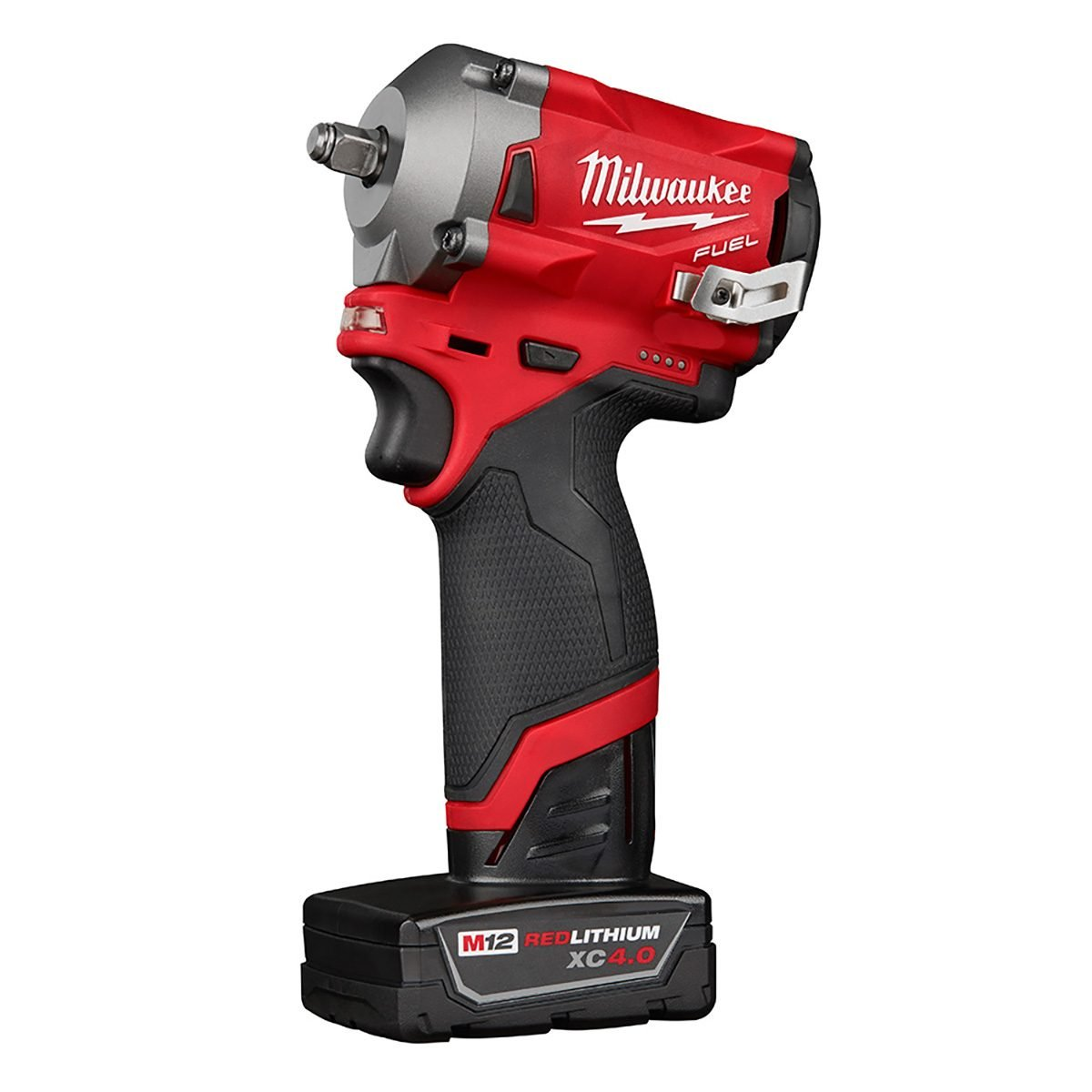 The body of Milwaukee's cordless stubby impact wrench | Construction Pro Tips