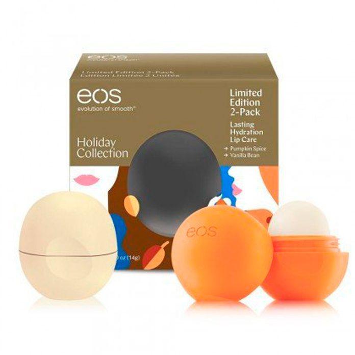 eos pumpkin spice lip balm