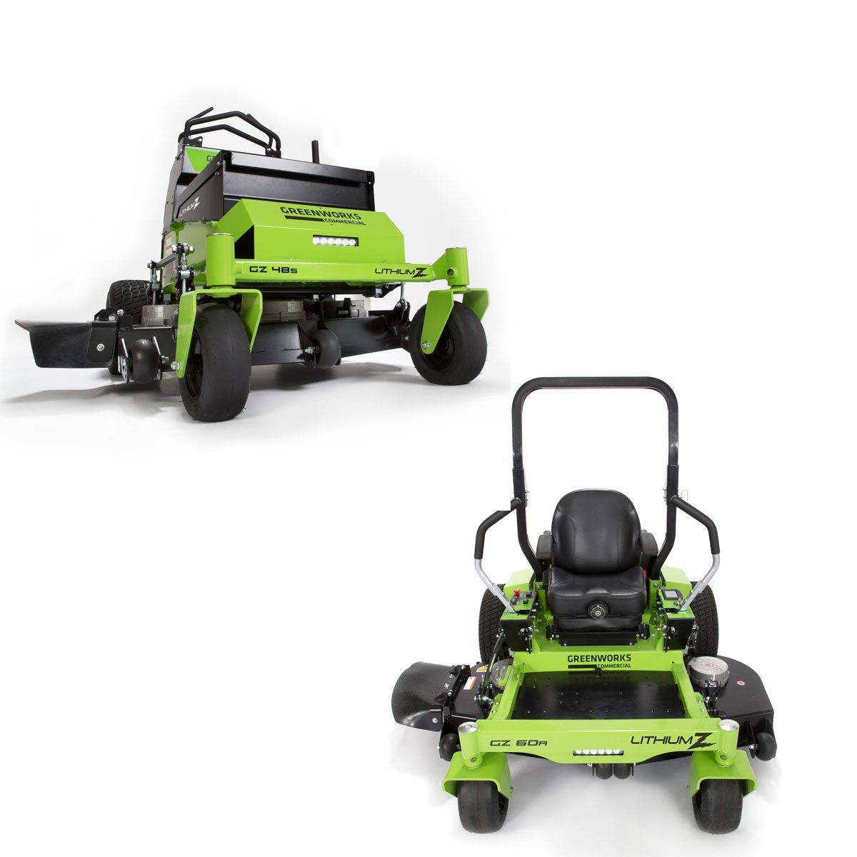 Greenworks Lithium Battery Lawn mowers | Construction Pro Tips