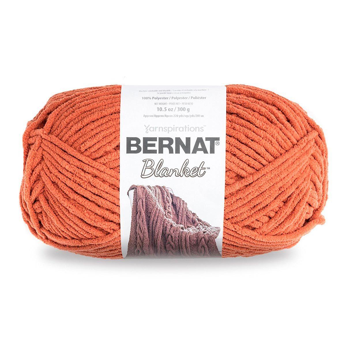 pumpkin spice yarn knit