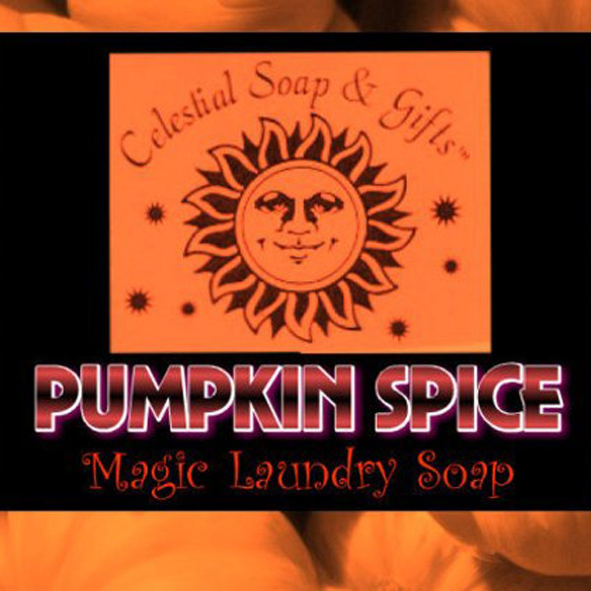 pumpkin spice vegan laundry soap powder
