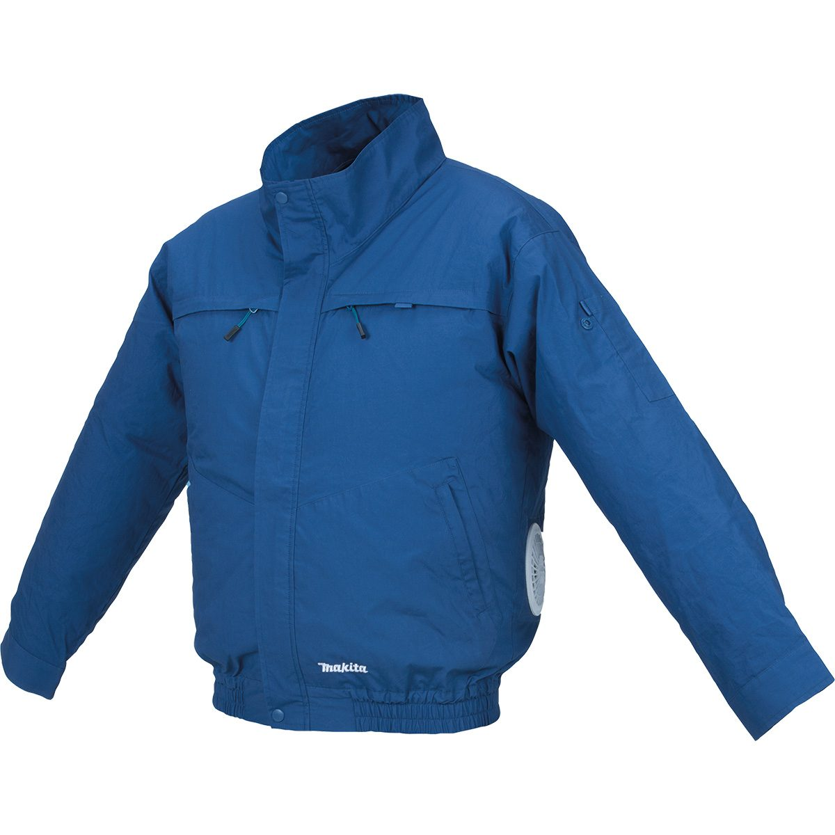 Blue cooling jacket from Makita | Construction Pro Tips
