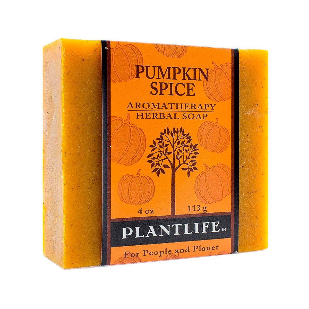 pumpkin spice herbal soap