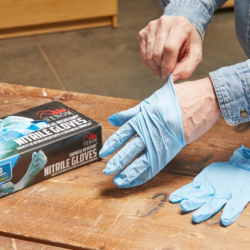 Nitrile Gloves | Construction Pro Tips