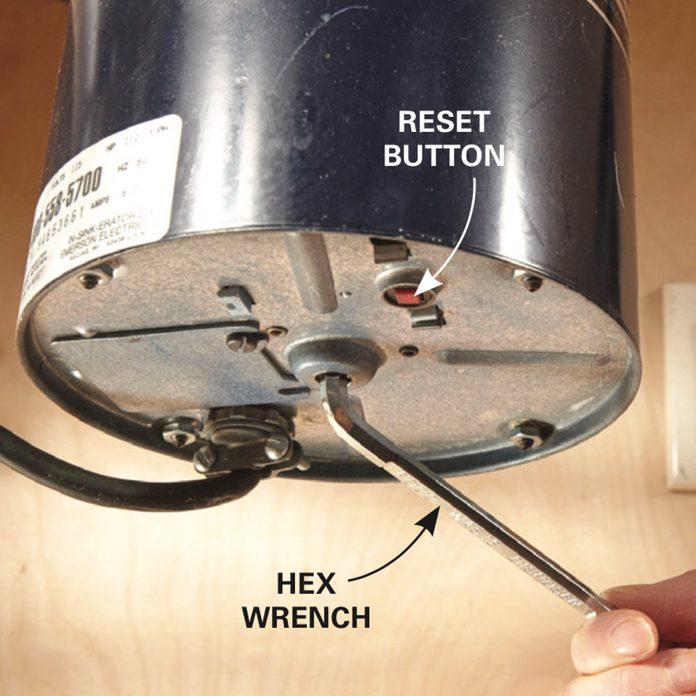 Replace a Garbage Disposal make sure it is broken