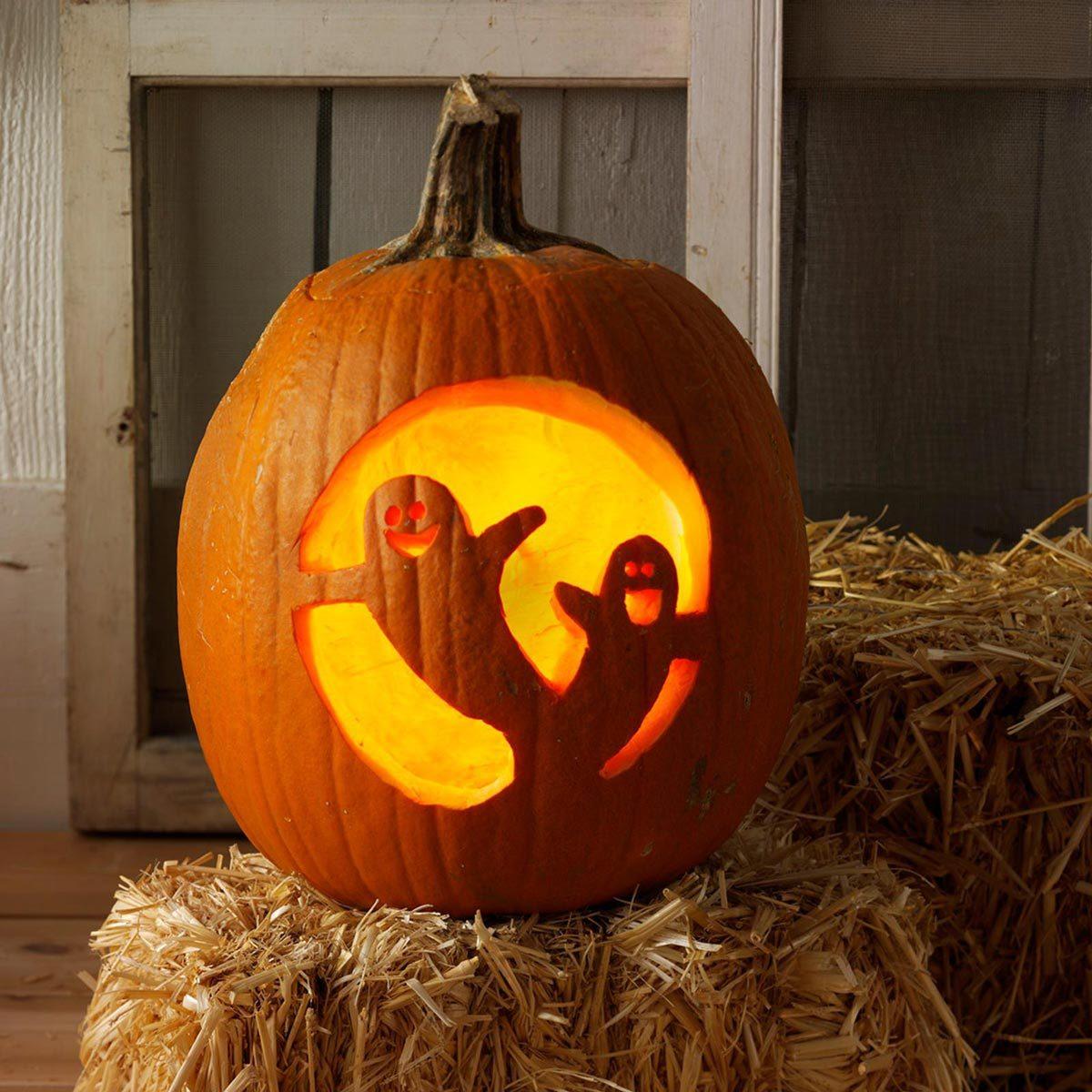 ghosts halloween pumpkin carving ghost