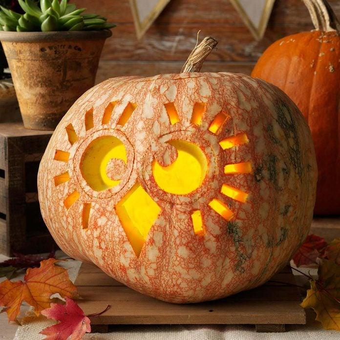 owl halloween jack o'lantern pumpkin