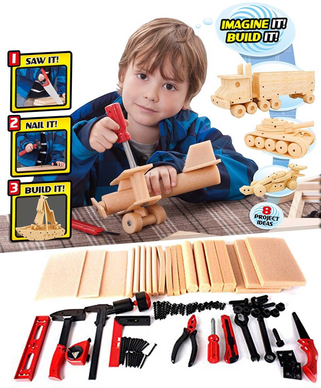 kids construction DIY kit