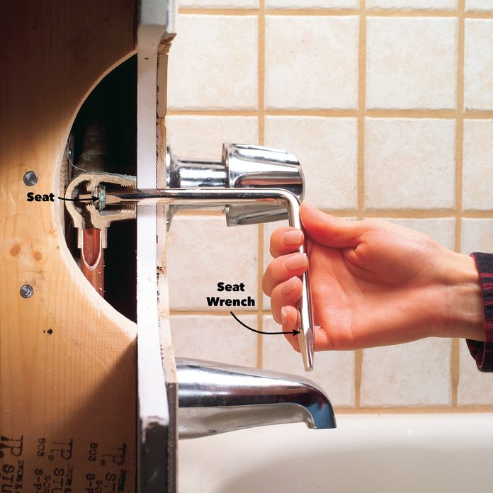 seat wrench remove bathtub faucet