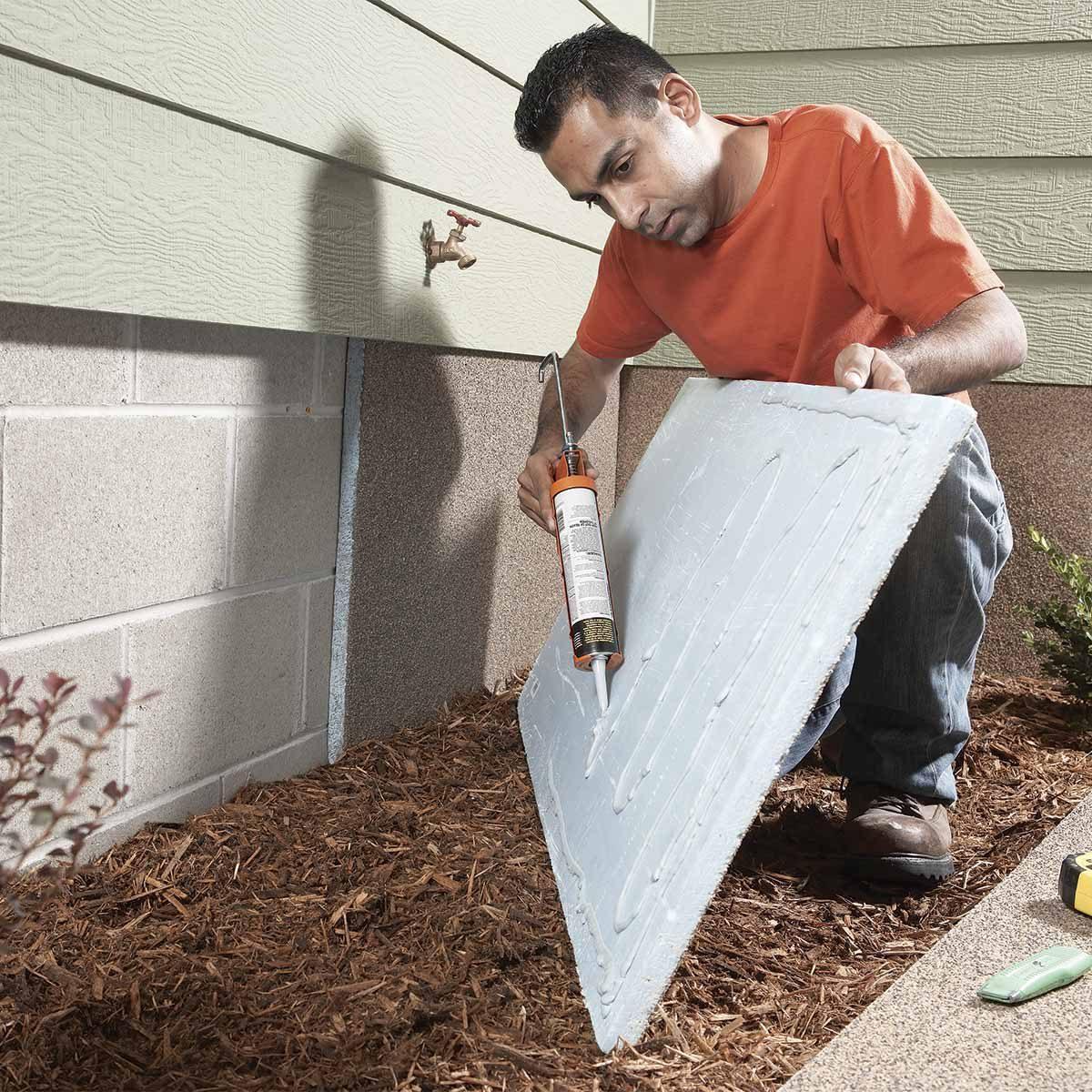 foundation insulation panels