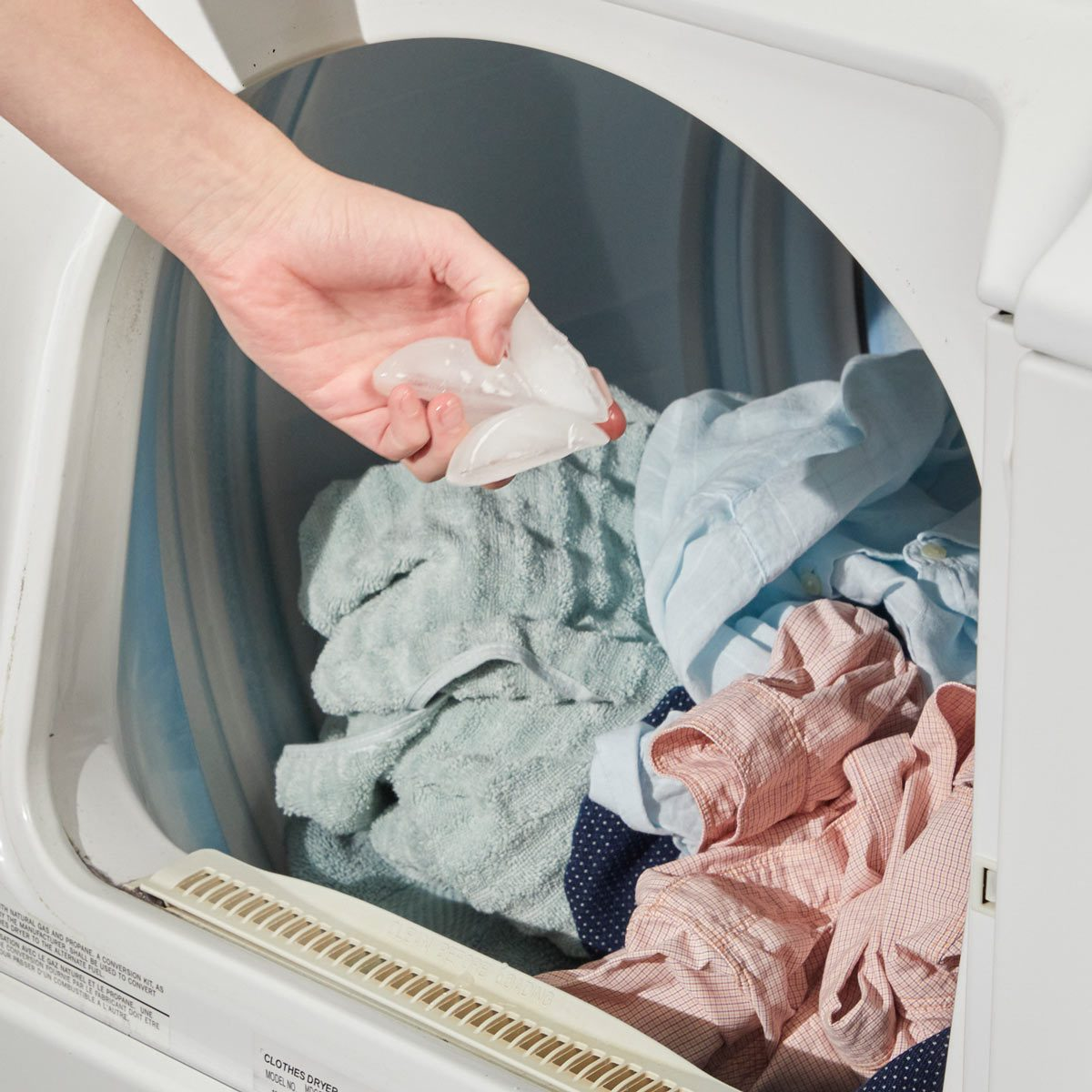 laundry room ideas ice cubes wrinkle remover dryer