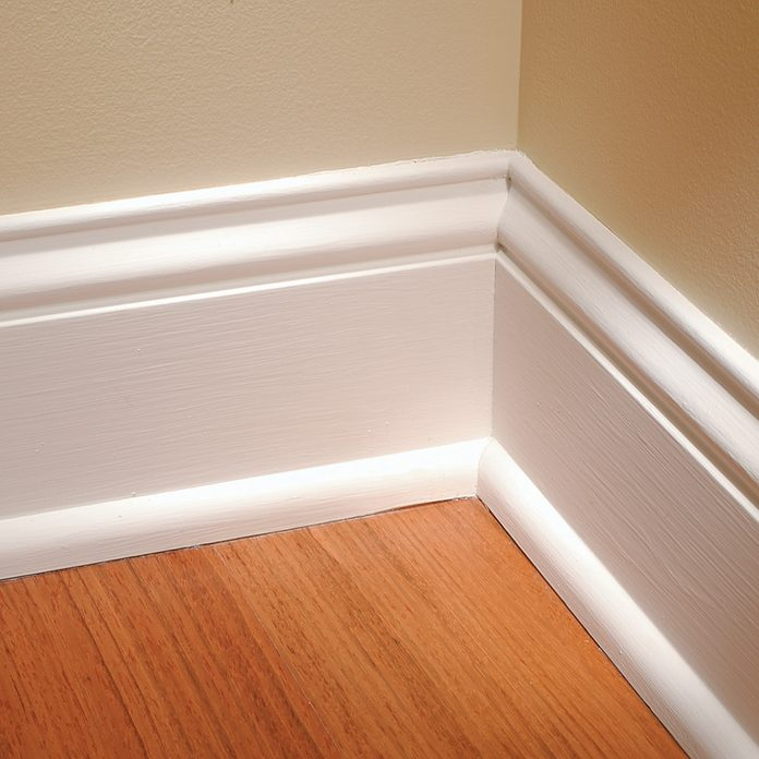 White trim on an inside corner | Construction Pro Tips