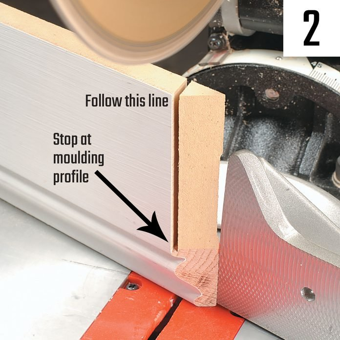 Coping base with a miter saw | Construction Pro Tips