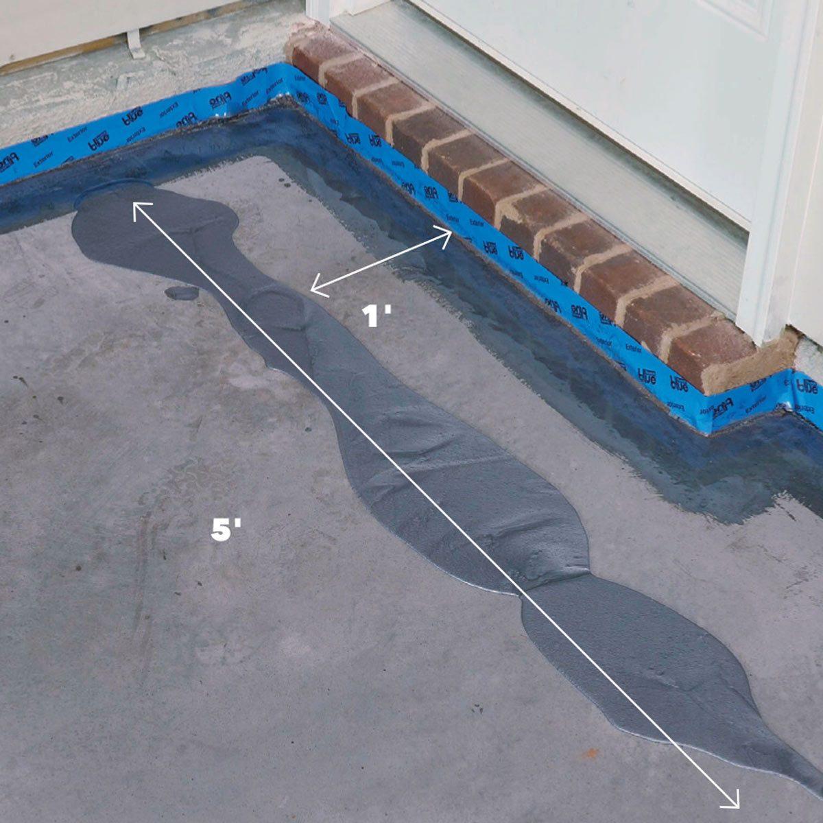 pour garage floor coating