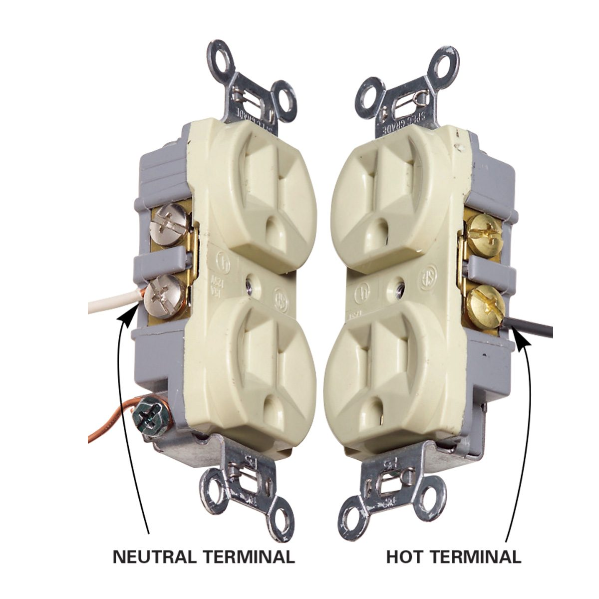 hot vs neutral terminals