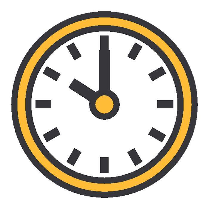 Clip art of a clock   Construction Pro Tips