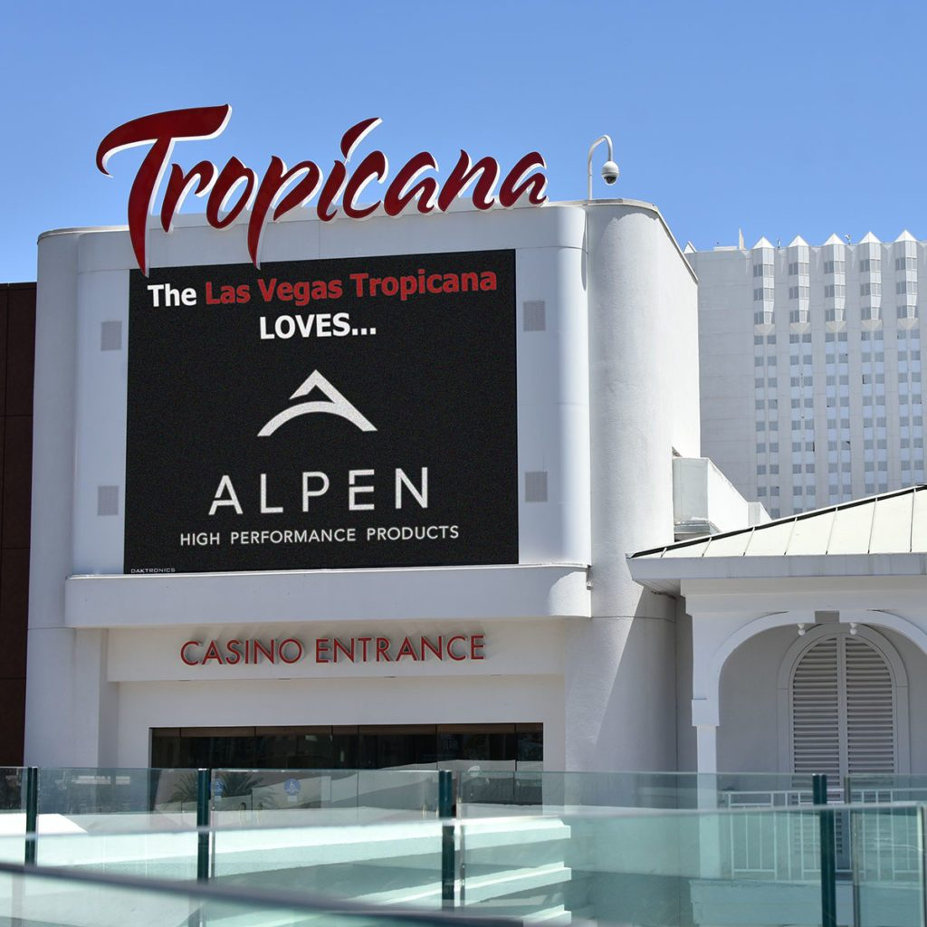 Casino with advertisement for Alpen Windows   Construction Pro Tips