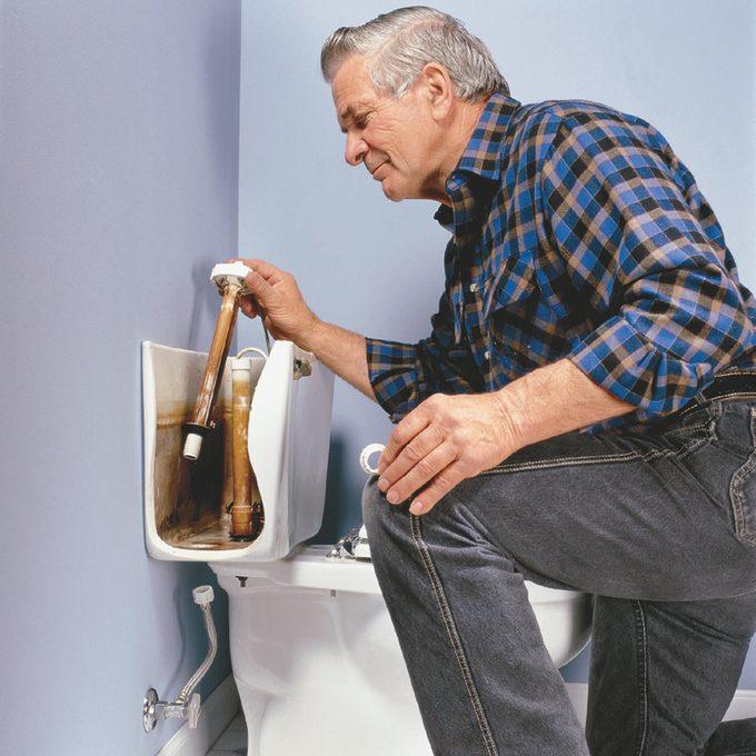 Running Toilet breakdown