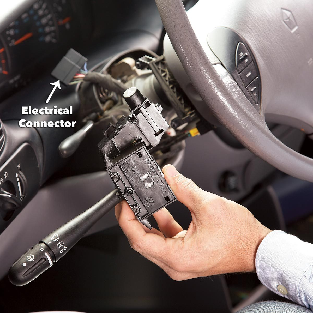 pull the Multifunction Switch intermittent wipers