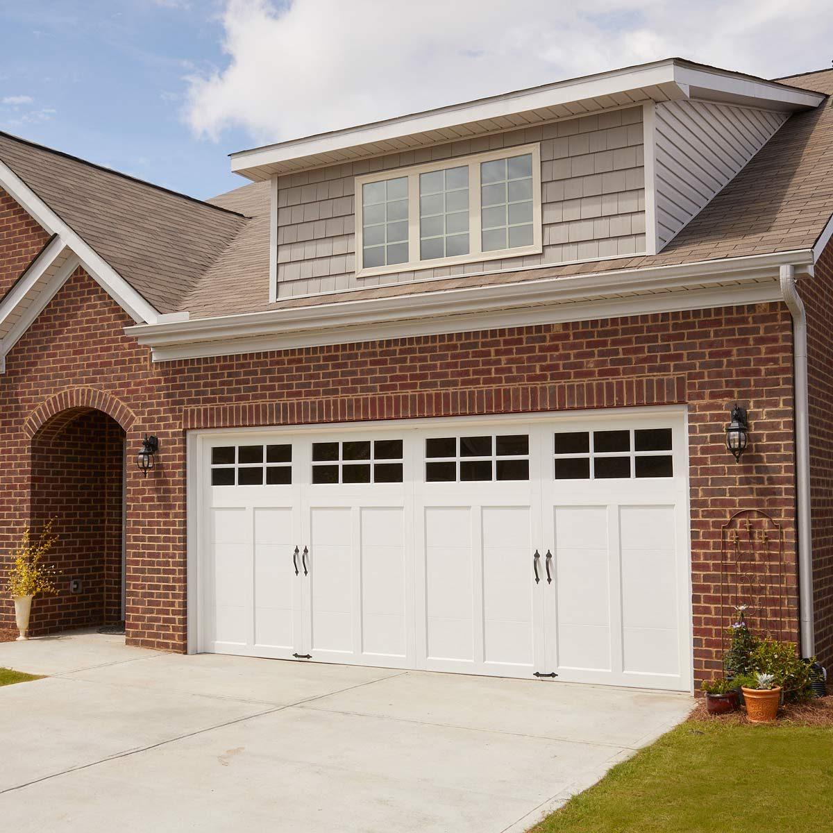 new garage door upgrade