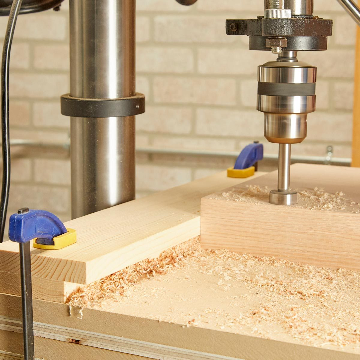 recessed drill press guide 1