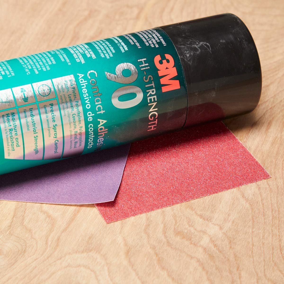 double-sided sandpaper
