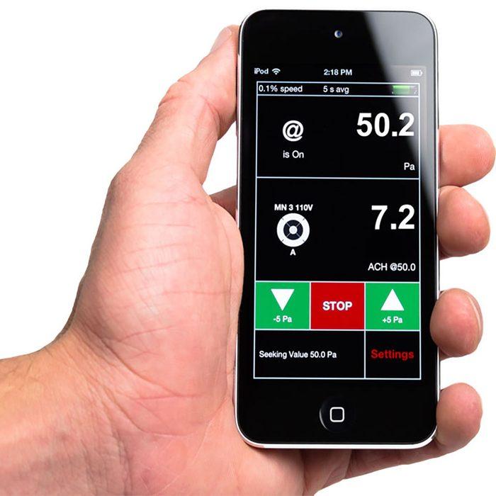 An app for blower door testing   Construction Pro Tips