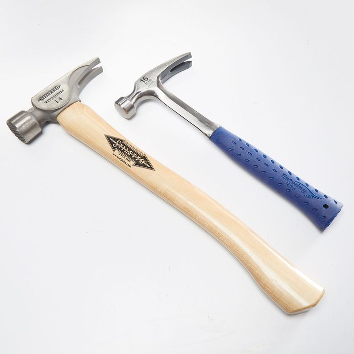 Two hammers with different handles | Construction Pro Tips