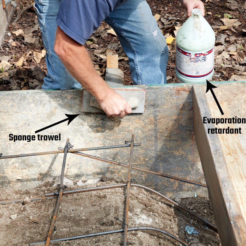 Covering forms with evaporation retardent | Construction Pro Tips