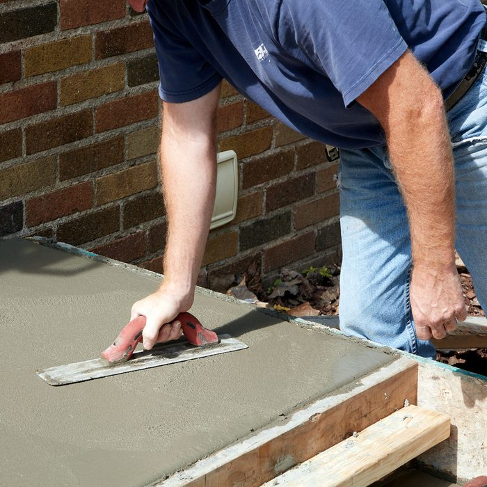 Test the concrete forms before removal   Construction Pro Tips