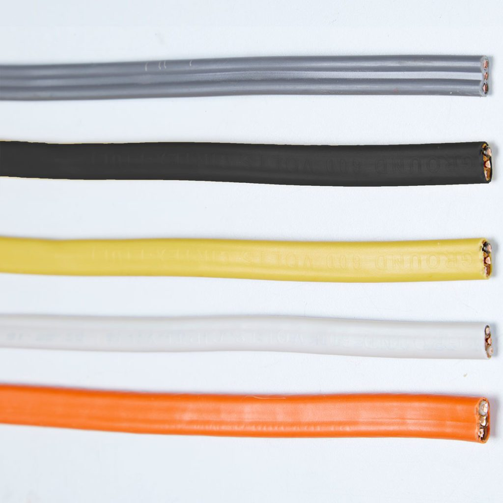 Five different colored wires | Construction Pro Tips