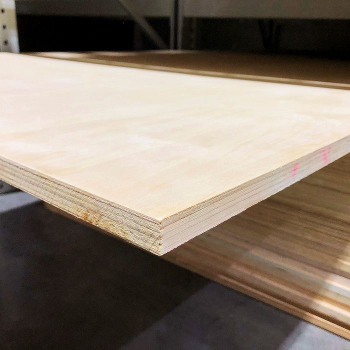 A slab of plywood with defects   Construction Pro Tips
