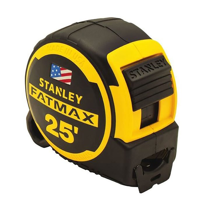 Stanley Fatmax 25 foot Measuring Tape | Construction Pro Tips