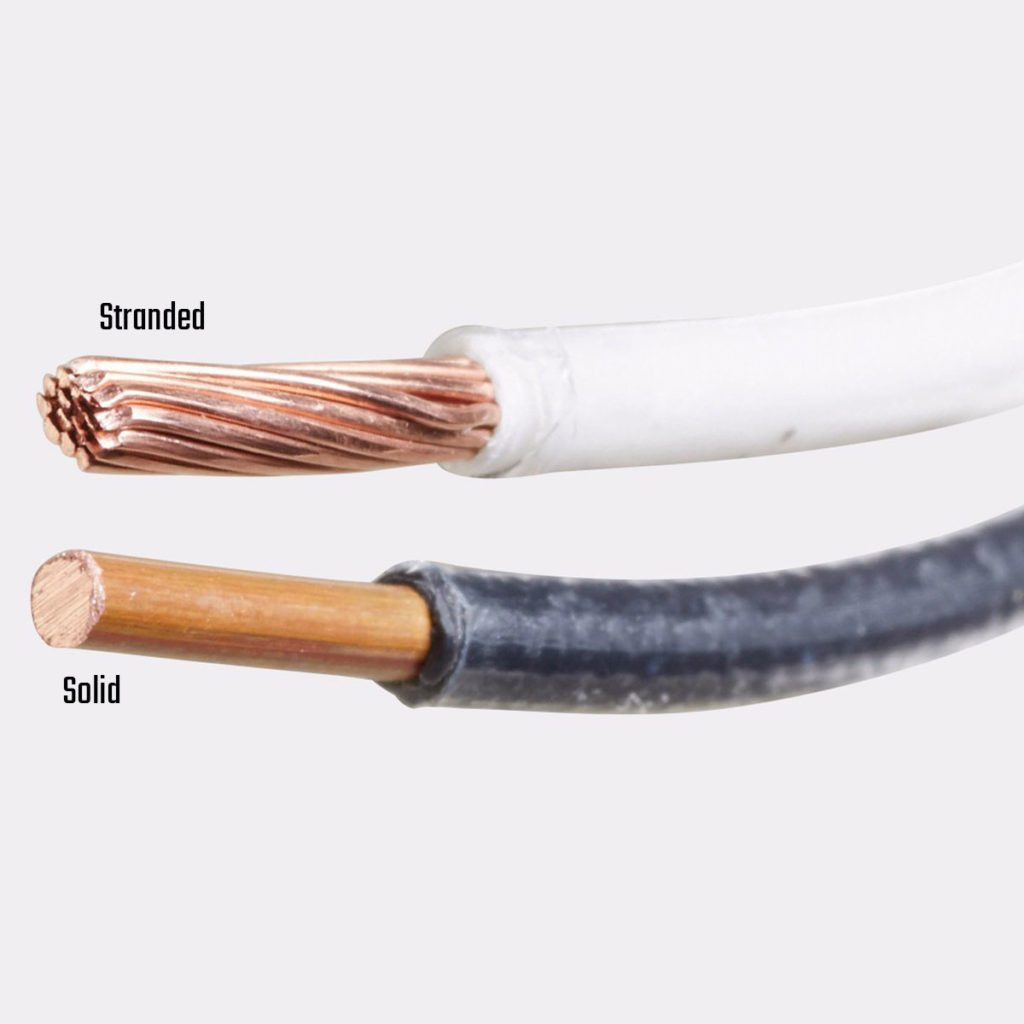 Stranded wire and a solid wire | Construction Pro Tips
