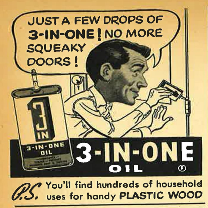 Vintage ad for 3-in-1 oil | Construction Pro Tips