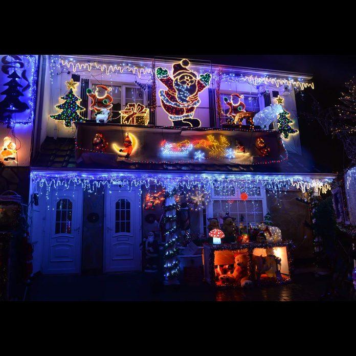Christmas lights display Dublin