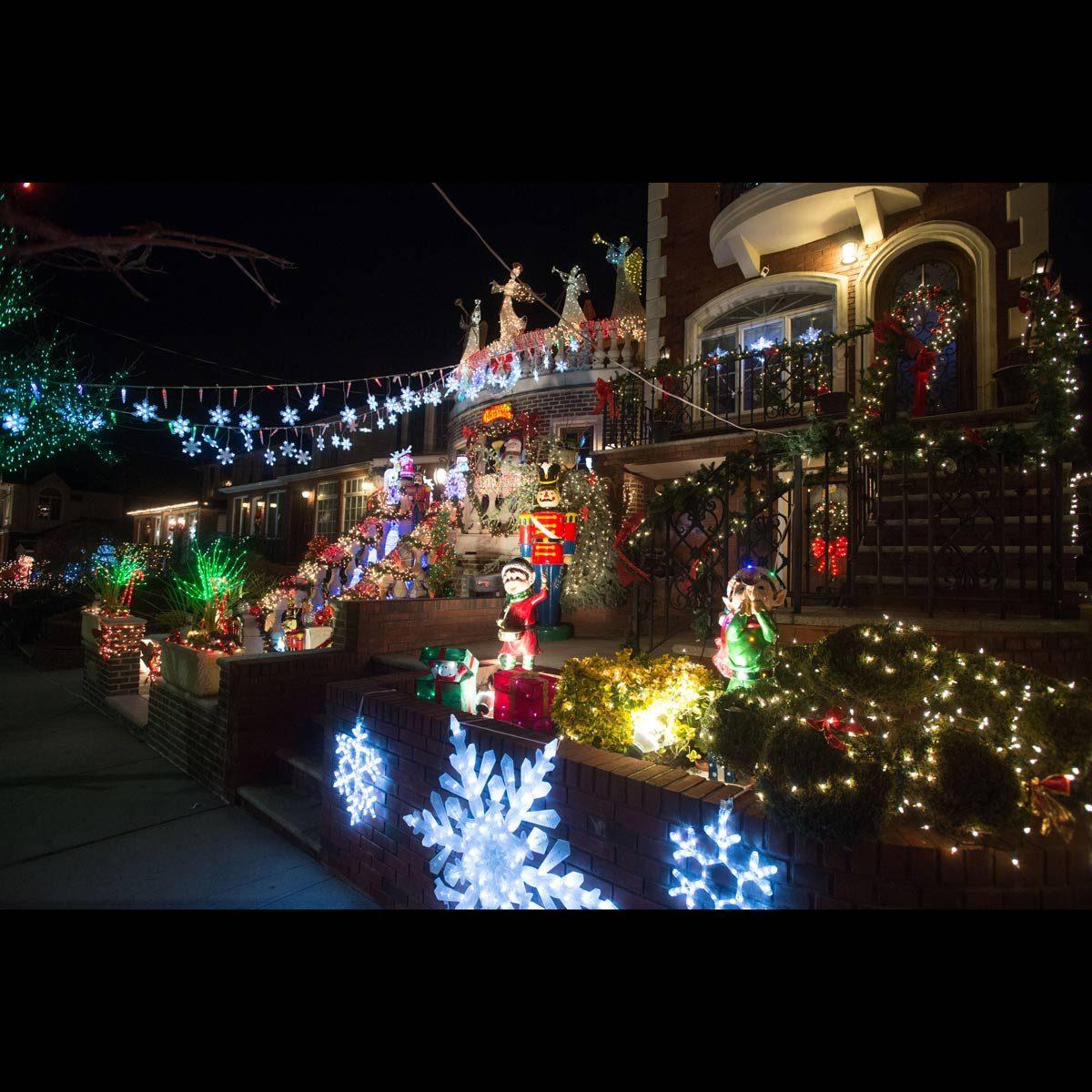 New York awesome christmas lights