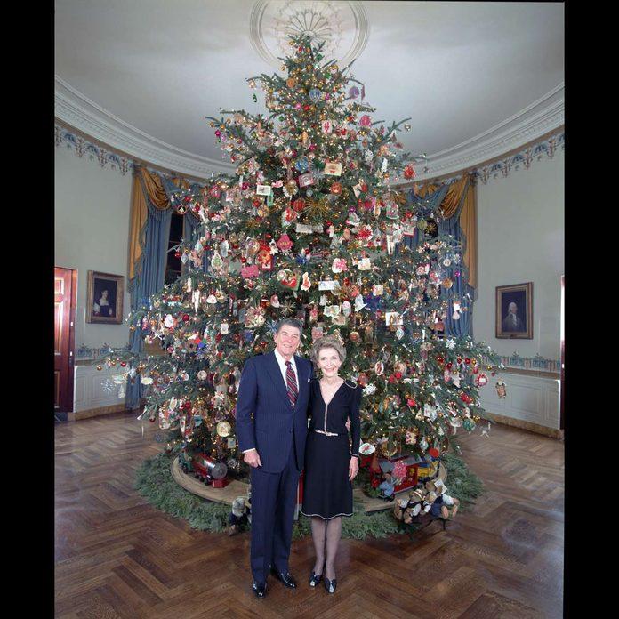 1985 Reagan Christmas tree
