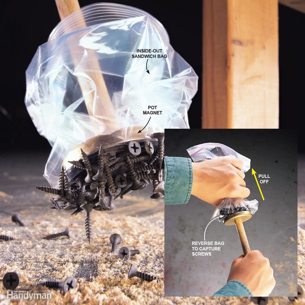 Magnetic Broom