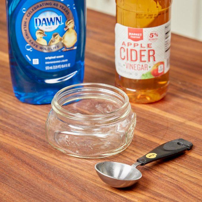 HH handy hint vinegar gnat trap